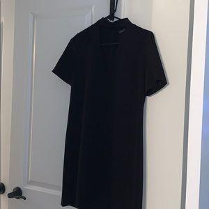 Zara short-sleeve shift dress